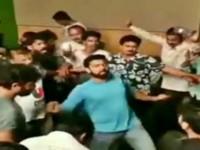 Kannada Actor Rakshith Shetty Huli Dance On His Birthday