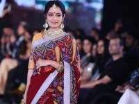 Ashika Ranganath Has Done Ramp Walk For Bangalore Fashion Week