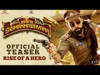 Avane Srimannarayana Movie Teaser Got 1 Million Views On Youtube