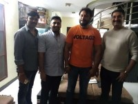 Cr Manohar Met Actor Kannada Actor Darshan