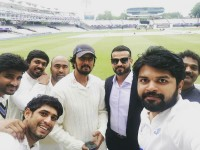 Kiccha Sudeep And His Team Won First Match At Lords Stedium