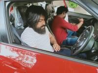 Kannada Actor Yash Droves His Associate Director Car