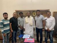 Duniya Vijay Met Ex Chief Minister Siddaramaiah