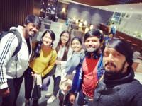 Sudeep Went To London With His Wife Priya