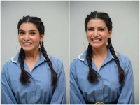 Actress Samantha Akkineni New Hairstyle