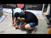 Kichcha Sudeep Charitable Society Provided Shoes And Socks To School Students