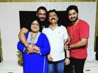 Darshan Surprise For Prajwal Devaraj Birthday