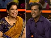 Husband And Wife In Kannadada Kotyadhipathi