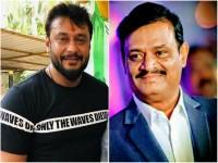 Darshan Funny Talk On Kurukshetra Producer Munirathna