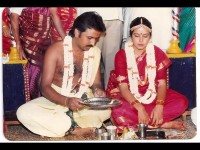 Ramesh Aravind Celebrating His Wedding Anniversary