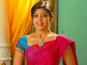 Actress Pranitha in Bheema Theeradalli