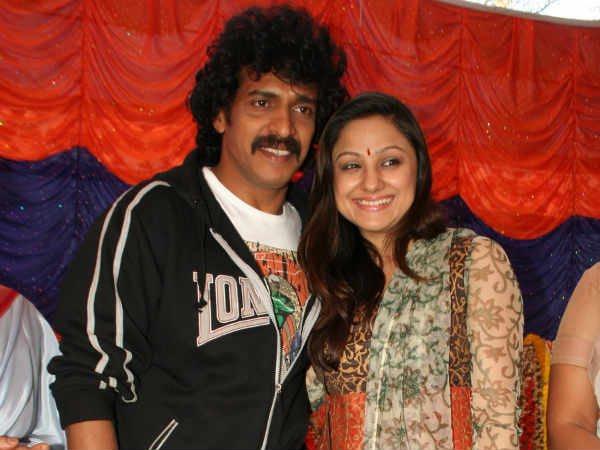 Upendra with Priyanka