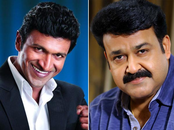 Mohan Lal to act in Puneeth Rajkumar's new movie