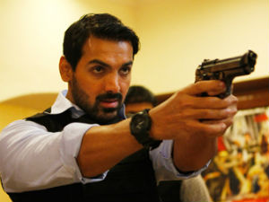 John Abraham's Madras Cafe faces protest