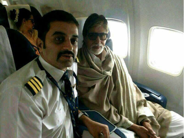Picture: Amitabh Bachchan, Rekha Spotted Together In A Flight