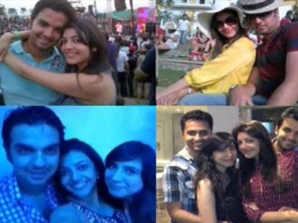 Kajal Aggarwal With Her Boyfriend: Photos Leaked