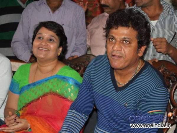 Actor Shivrajkumar