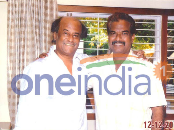 Rajinikanth with Raj Bahadur
