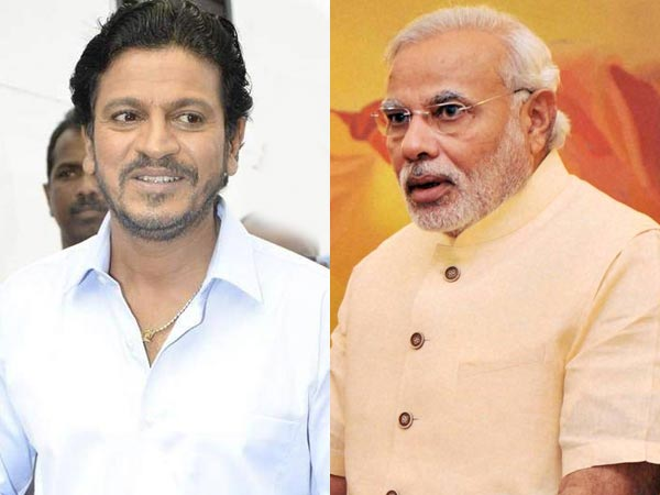 Actor Shivarajkumar's impressed with Narendra Modi