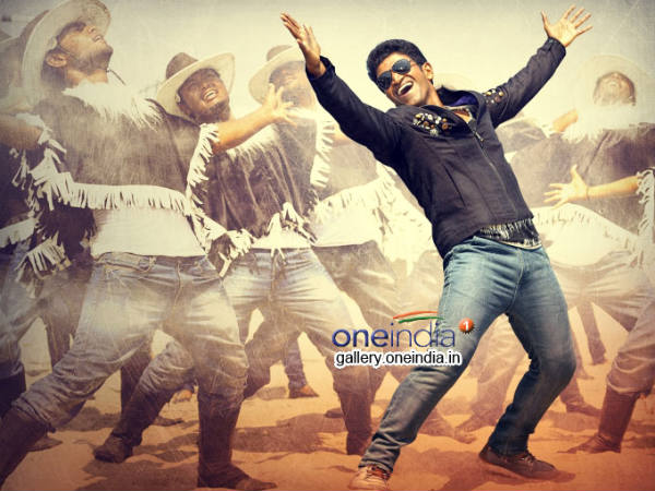 A still from movie Power Star