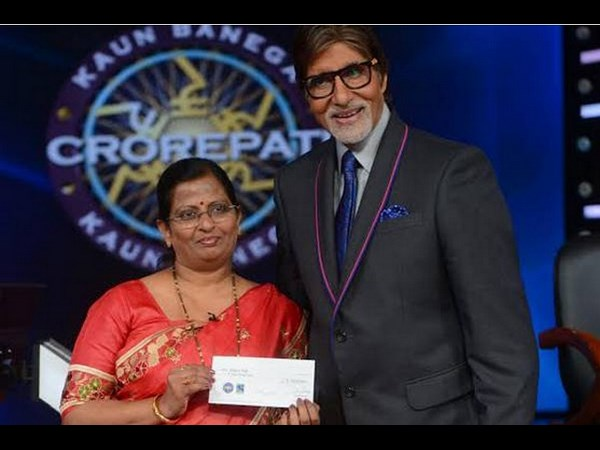 Meghana Patil with Big B