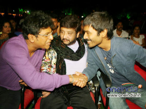 Shivanna, Dhanush file photo