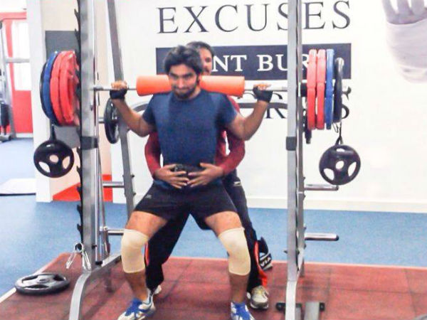 Anish Tejashwar workout for six pack look