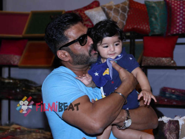 Actor Sunil Shetty