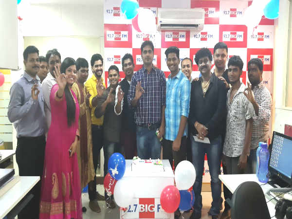 Tulunadu Number one FM dtation 92.7 BIG FM celebrated 7th anniversary