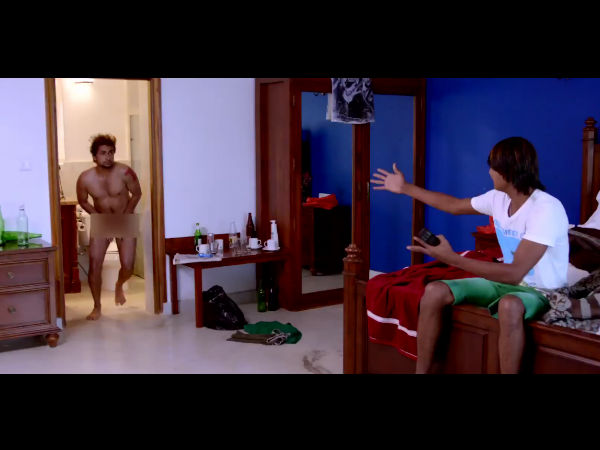 Tarun Chandra becomes Nude for the movie Goa1