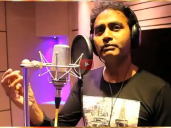 Sharan turns singer for Raja Rajendra3
