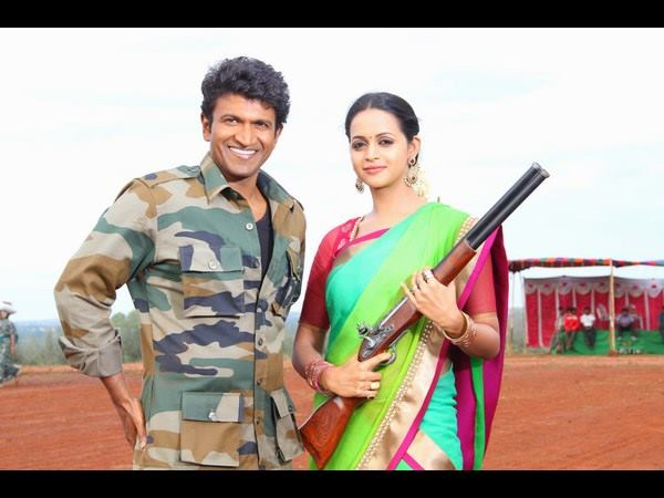 Puneeth Rajkumar as Sipayi Ramu in Mythri1