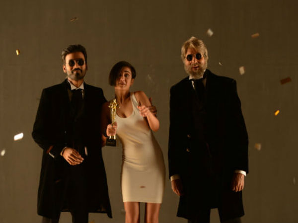 Dhanush+Amitabh Is Shamitabh