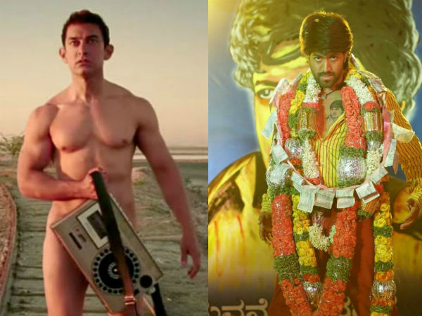 Aamir Khan's PK collection drops due to Yash's MR and MRS Ramachari