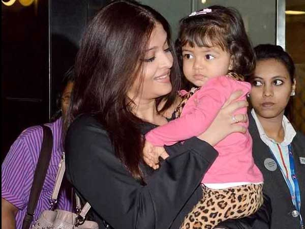 Aaradhya has not yet started experimenting with make up: Aishwarya
