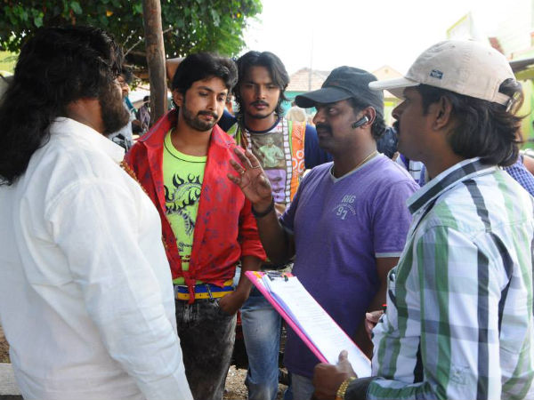 Goa movie working still
