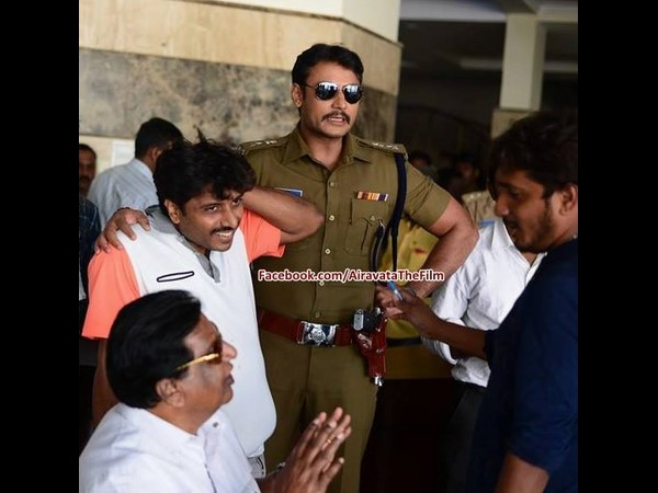 Darshan's 'Airavata' director beatend up