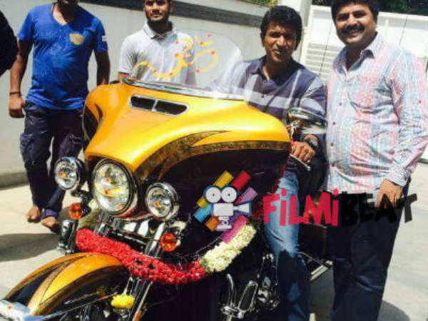 Puneeth Rajkumar's brand new Super Bike