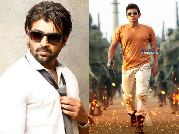 Tamil actor Arun Vijay To Debut In Sandalwood As Puneeth's Villain