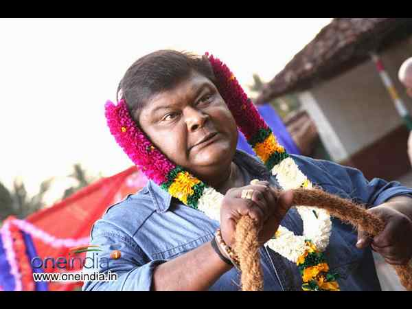 Actor Bullet Prakash escapes mishap during Bhujanga shooting