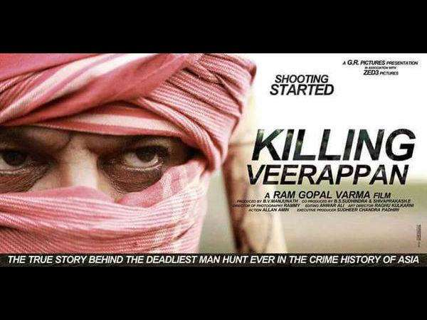 Shivarajkumar starrer 'Killing Veerappan' first look poster out