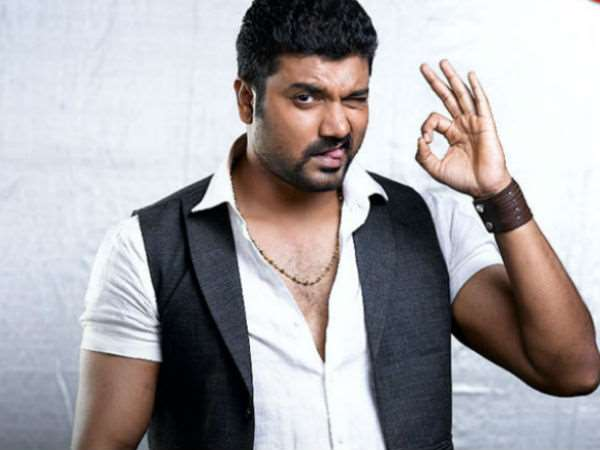 Srujan Lokesh works hard in gym for Sunny Leone