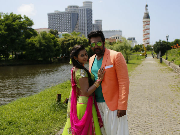 Kannada movie 'Ramleela' team Back to India