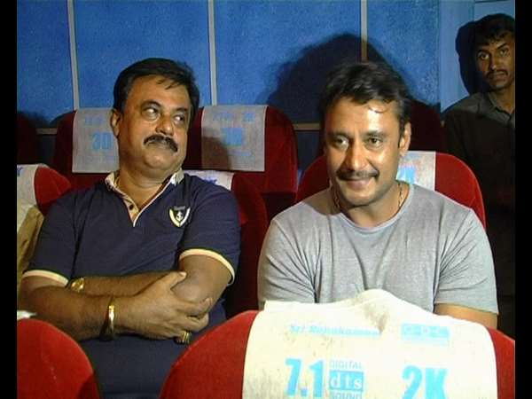 Kannada Actor Darshan lauds Kannada Movie 'Ganapa'