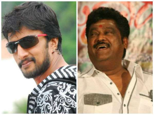 Jaggesh praises Kiccha Sudeep on Twitter