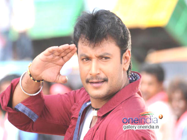 Challening Star Darshan visited Chamundeshwari Temple, Mysuru