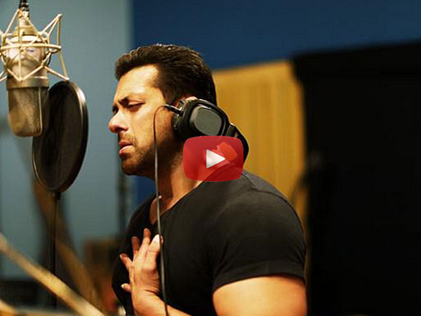 Watch video: Salman Khan sings for 'Hero'