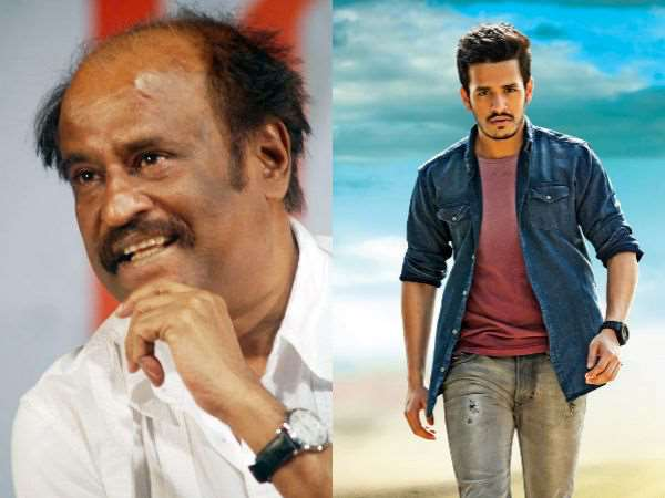 Rajinikanth To Introduce Akhil Akkineni In Tamil