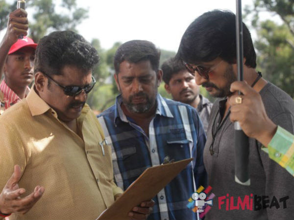 Kannada Actor Sudeep Movie 60 more days of shoot pending