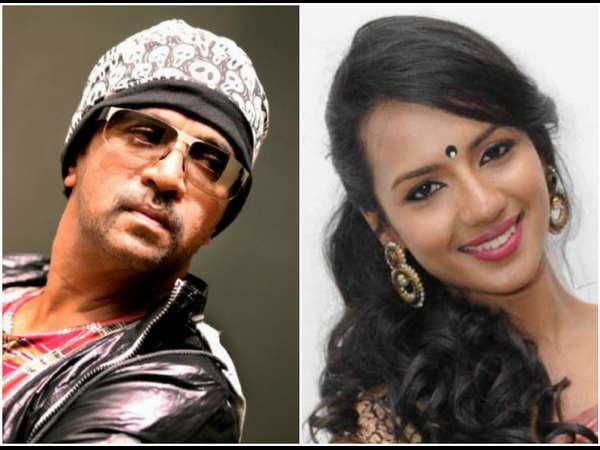 Actress Sruthi Hariharan is Arjun Sarja's Wife